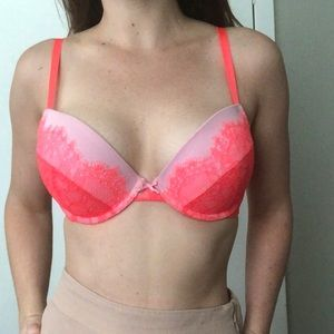 Aerie Padded Push-up Lace Bra